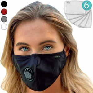 E Tronic Face Mask + 6 N99 Filter