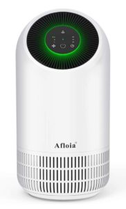 Afloia Air Purifier, Portable Air Purifier for Home, Air Cleaner with True HEPA Filters