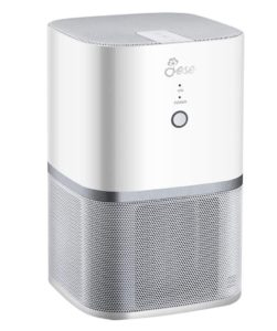 JESE Mini Desktop Air Purifier with 4-in-1 True HEPA Filter, CARB Certified